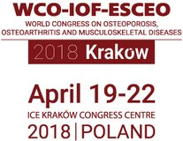 WCO-IOF-ESCEO Krakow 2018 - WORLD CONGRESS ON OSTEOPOROSIS, OSTEOARTHRITIS AND MUSCULOSKELETAL DISEASES