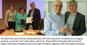 2015 Dent Lecture Award